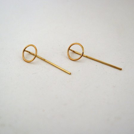AOKO SU Circle Origin Earrings