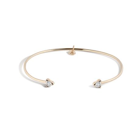 Shahla Karimi Birthstone Cuff No. 1 - 14K Gold