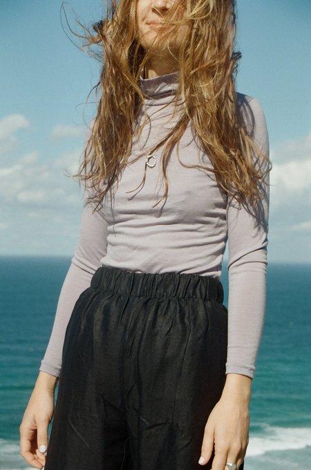 Mimi Holvast Skivvy Top - Lavender