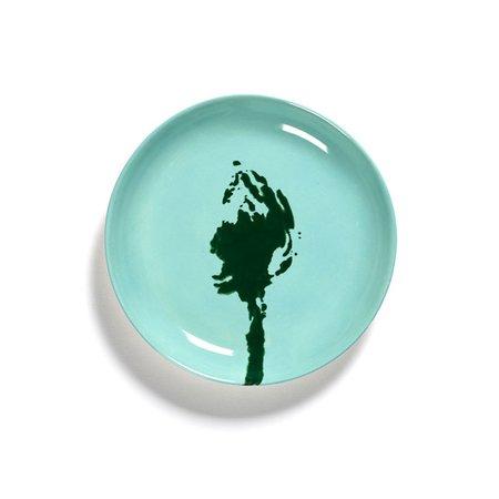 Serax Ottolenghi Feast Extra Small Artichoke Plate - Azure/Green