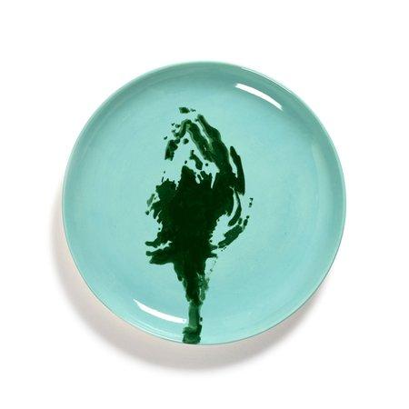 Serax Ottolenghi Feast Medium Artichoke Plate - Azure/Green