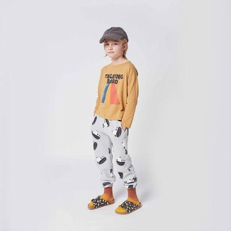 kids Bobo Choses Doggie All Over Jogging Pants - Grey Violet