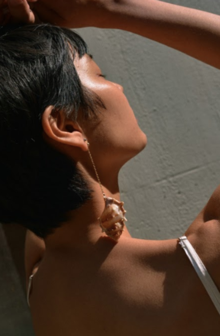 SVNR Caicos Earring - White