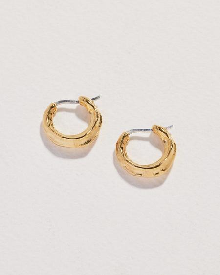 Pamela Love Hoop Earrings - Gold