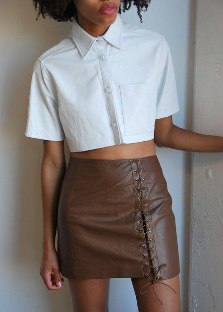 alyson eastman Latigos Skirt - Chocolate