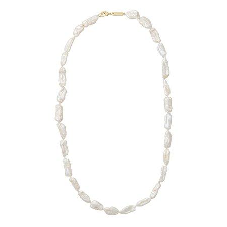 Machete biwa pearl necklace