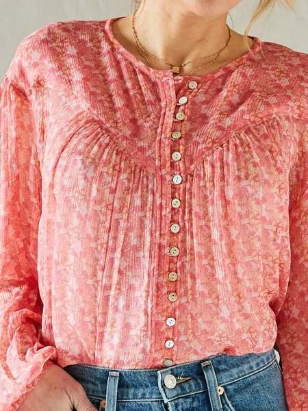 Calou Hamptons Blouse - Delicate Pink