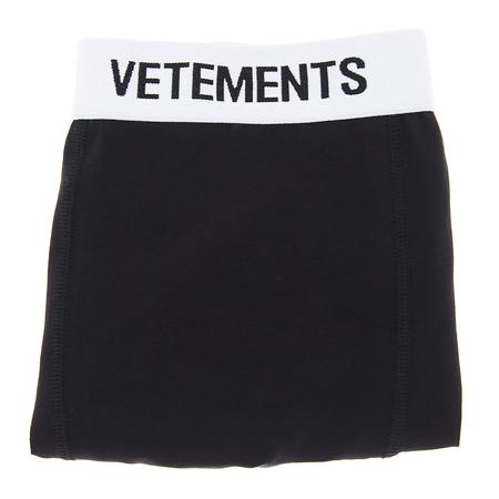 Vetements Logo Boxer - Black