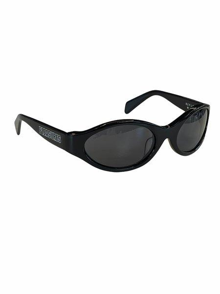 PLEASURES REFLEX SUNGLASSES - black