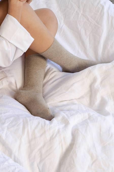 General Sleep Bed Socks - Oat