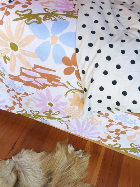 [Pre - Loved] Mosey Me The Garden Fitted BedSheet