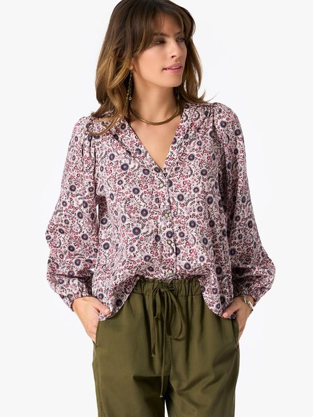 Xirena Blossom Sadie Shirt - ivory