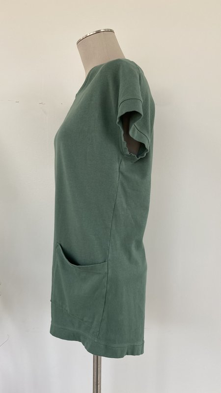 Back Beat Co. Organic Cotton Slip-On Romper - foliage