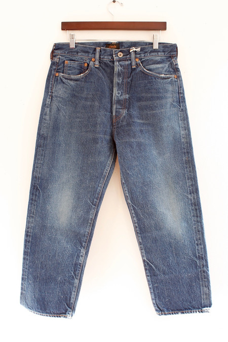 Chimala Wide Tapered Cut jean