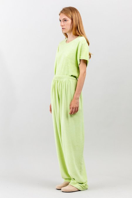 Toit Volant 80s Jogging Long Pants - Starfruit Lime