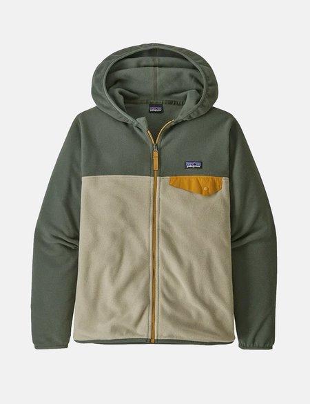 Patagonia Boys Micro D Snap-T Fleece Jacket - Beige