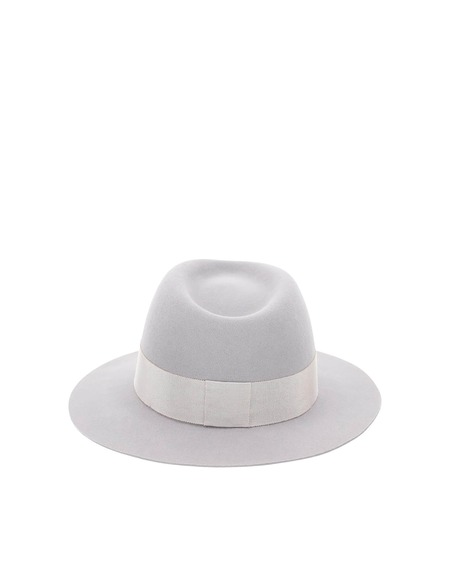 Maison Michel Andre Felt Hat - Gray