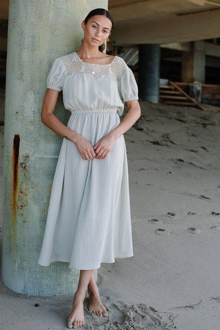 Rachel Pally Gauze Cami Dress - Celery