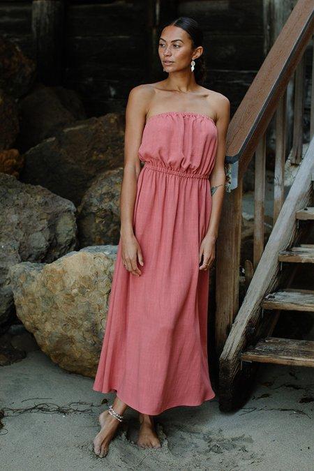 Rachel Pally Linen Kira Dress - Camellia