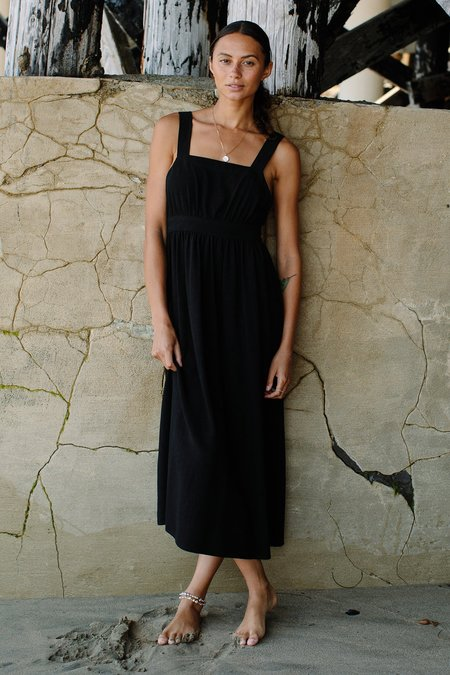 Rachel Pally Linen Lian Dress - black