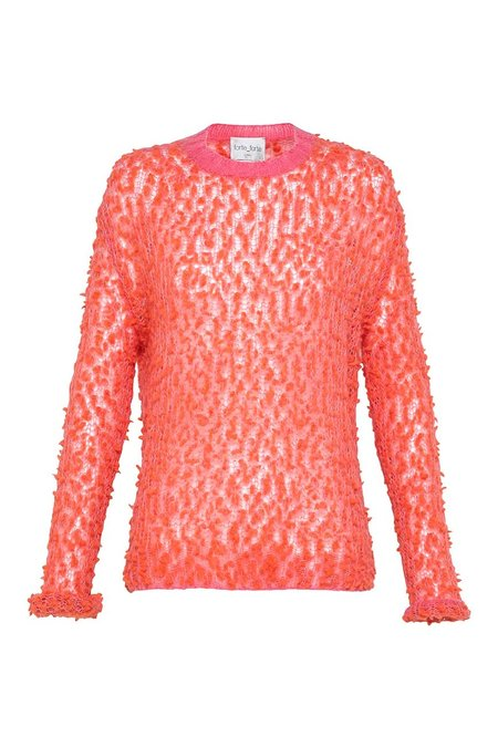 Forte Forte Pon Pon Sweater - red