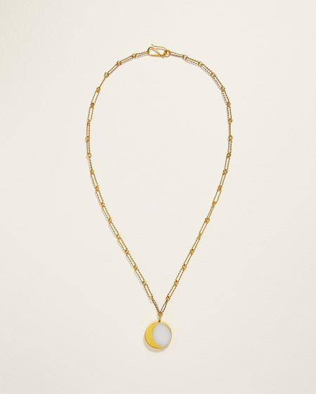 Pamela Love Kyleigh Necklace - yellow gold plate
