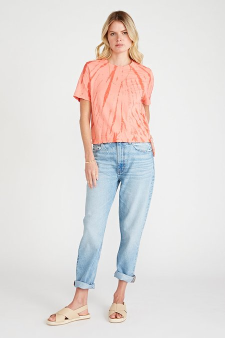 Etica Finn High Rise Straight Jeans - Feather River
