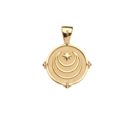 Jane Winchester JW Letter Coin Pendant jewelry