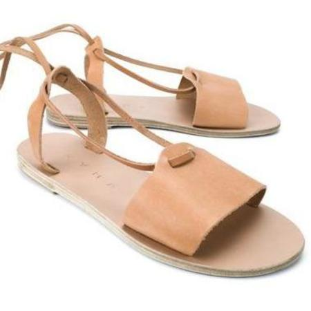 Kyma Amorgos Sandals - Light Brown Suede