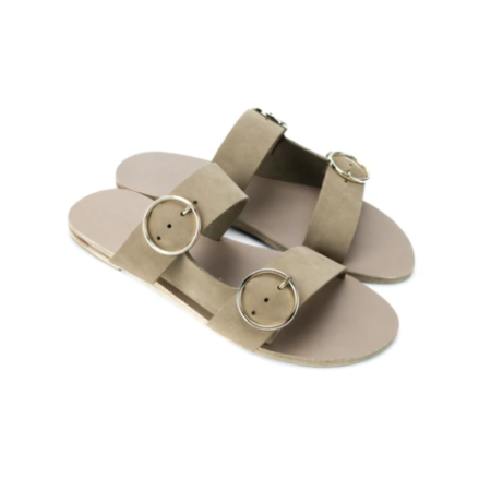 Kyma Skopelos Sandals - Olive Suede