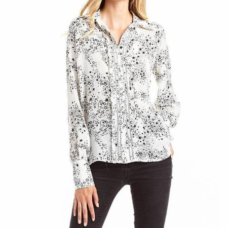 Secret Mission Florence Top - White Galaxy