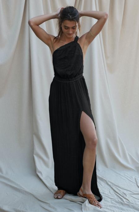 Jen's Pirate Booty Princeville Maxi Dress - Gauze Olive