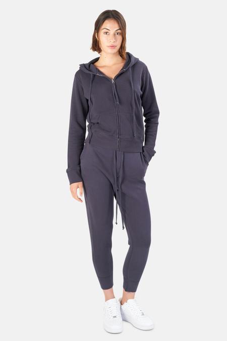 Nili Lotan Women's Callie Zip Up Hoodie Sweater - Navy