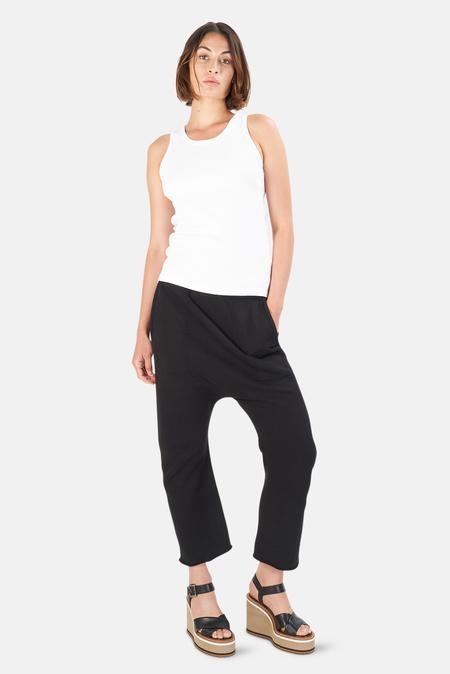 Nili Lotan Women's SF Sweatpant - Washed Black