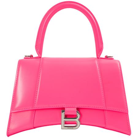 Balenciaga SMALL HOURGLASS BAG - Pink