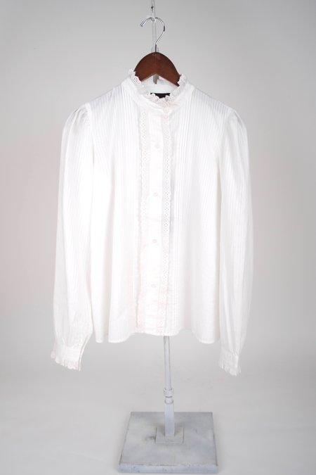 Nili Lotan Thea Shirt - White