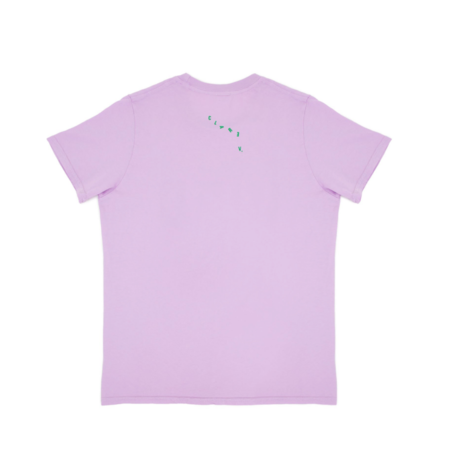 Clare V. Camp Fit Tee - Lavender