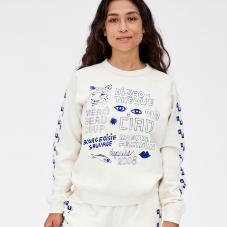 Clare V. Sweatshirt - Cream