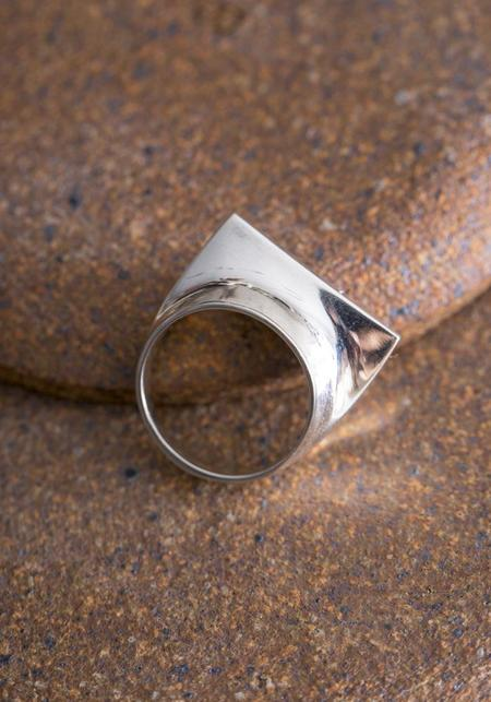 Quarry Sterling Silver Toltec Ring