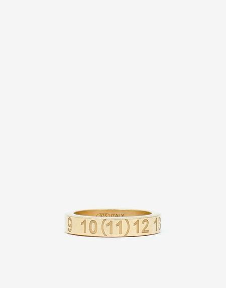 Maison Margiela Number Logo Ring - Gold