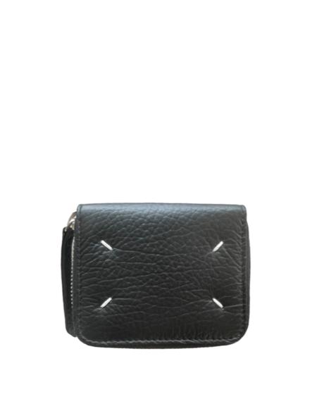 Maison Margiela Full Zip Wallet - Black