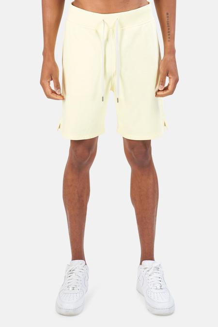 Blue&Cream Summer Club Short - BEACH Yellow