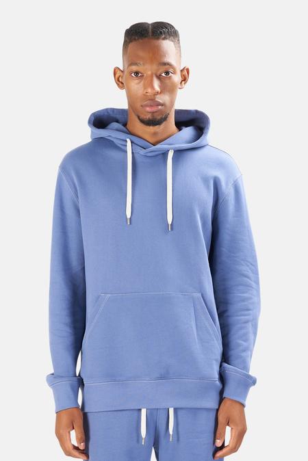 blue&Cream The Hood Hoodie Sweater - Sail Blue