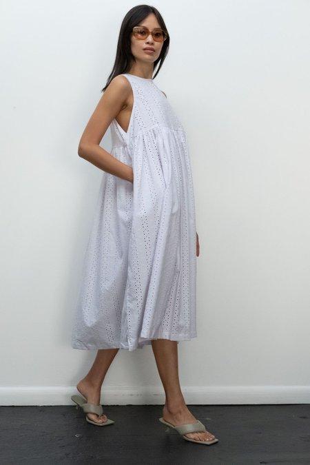KLXTV Leora Dress - White Eyelet