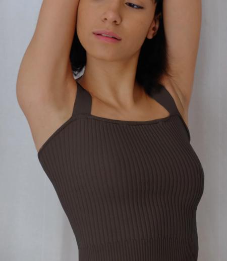 The Bodysuit of Barcelona Rossette Bra - Black
