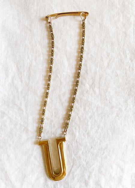 Lila Rice Rise Pendant Necklace