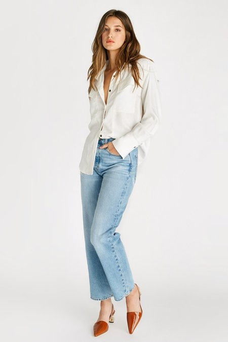 eTica Tyler High Rise Vintage Straight Jeans - Mystic Canyon