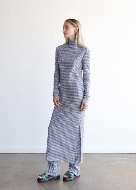 Nomia Long Knit Pant - Blue/White