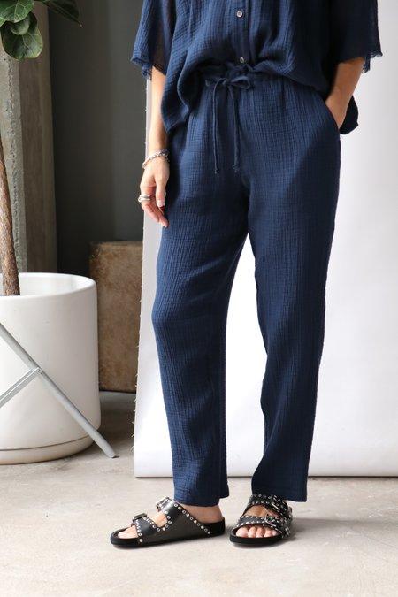 Raquel Allegra Tie Pant - Navy