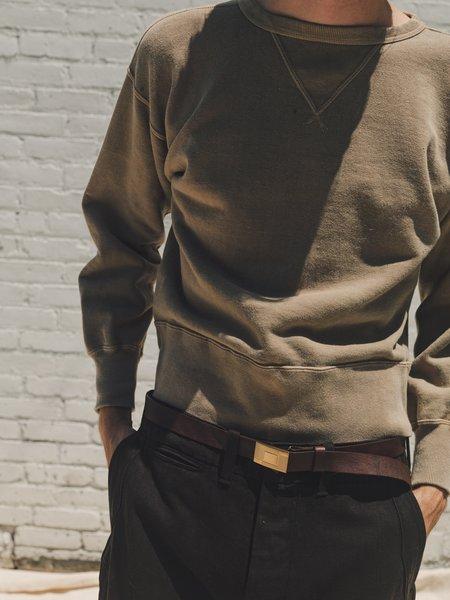 Taiga Takahashi Natural Dyed Sweat Shirt - Walnut Beige